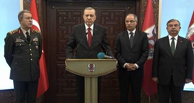 Erdoğan: Saldırıda ölen 28 kişinin 20'si rütbeli asker, 8'i sivil