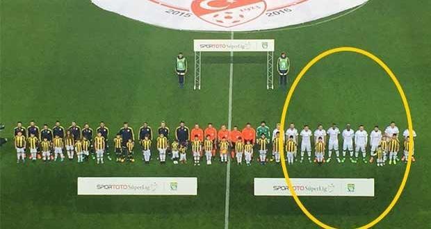 Fenerbahçe – Beşiktaş komik görüntü