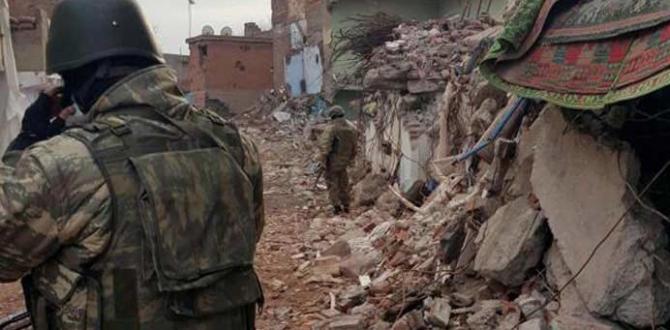 Sur'da 1 Astsubay şehit, 2 Asker yaralı