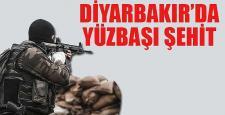 Diyarbakır Sur'da 1 Yüzbaşı Şehit Oldu