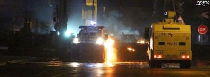 Van'Zırhlı polis aracına roketatarlı saldırı!