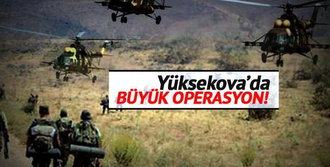 Yüksekovada operasyonlar 14. gününe girdi