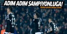 Beşiktaş, Antalyaspor engelini tek golle aştı 1-0