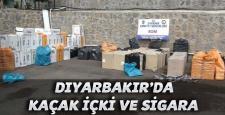 Diyarbakır'da: kaçak İçki ve Sigara operasyonu