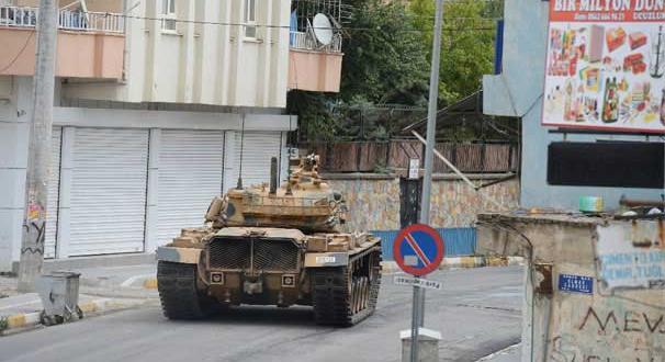 Bağlar ilçesine; Tank ve Asker giriş yaptı