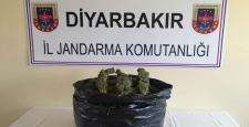 Diyarbakır'da uyuşturucu (Esrar) ele geçirildi