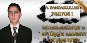 Diyarbekirspor'a bütünlük başarıyı getirecektir