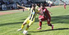 Diyarbekirspor, Derincespor'a 1-0 mağlup oldu