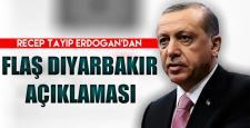 Erdoğan, Diyarbakır saldırısı sonrası konuştu