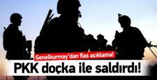 Şırnak'ta; Askeri Üs bölgesine Doçka ile saldırıldı