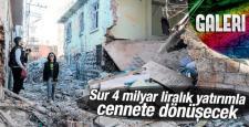 Sur'da evler yıkılıyor, İlçe tamamen yenilenecek