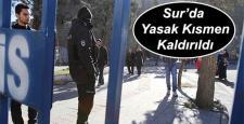 Valilik; Sur'da 2 mahalle ve 1 cadde'de yasak kaldırıldı