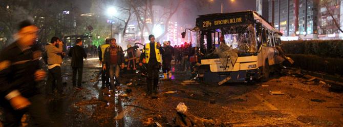 """Ankara'da meydana gelen saldırıyı """"TAK"""" üstlendi"""