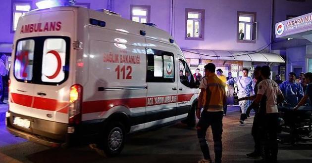 Ankara'da yaralılar için ALO 184 hattı, işte yaralı listesi