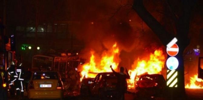 Ankara'nın Kızılay semtinde patlama! 27 kişi öldü, 75 yaralı