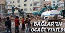 """Bağlar İlçesi: """"Sağlık Ocağı"""" yıkıldı, Karakol yolda"""
