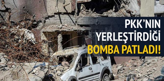 Cizre'de yasak kaldırıldı, patlama meydana geldi
