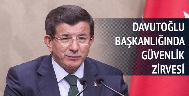 Davutoğlu, Ankara patlaması sonrası güvenlik zirvesini topluyor