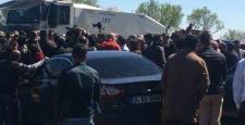 HDP; Newroz için gittiği, Cizre girişinde durduruldu