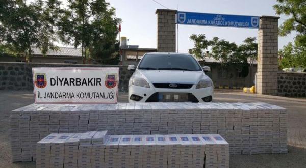 """Diyarbakır'da 2.5 Milyon Liralık """"Kaçak Sigara"""" ele geçirildi"""