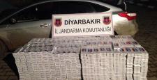 Diyarbakır'da 9 Bin 100 paket kaçak sigara yakalandı