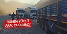 Diyarbakır'ın Hani ilçesinde bomba yüklü araç yakalandı