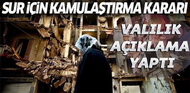 Diyarbakır Valiliği: 'Acele Kamulaştırma' açıklaması