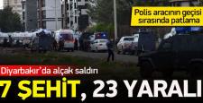 Diyarbakır'da bombalı saldırı, 7 Şehit – 27 Yaralı