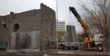 Valilik; Beton bloklar en kısa sürede kaldırılacak