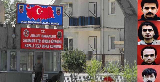 Diyarbakır'da 6 mahkum hapisaneden firar etti