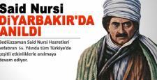 Said Nursi, vefat yıl dönümünde Diyarbakır'da anıldı