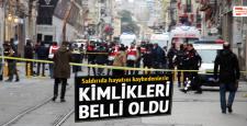İstiklal caddesi patlamasında ölenlerin kimlikleri