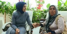 Sare Davutoğlu, Diyarbakır'a ayak bastı
