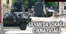 """Silvan'da tekrar """"Sokağa Çıkma Yasağı"""" ilan edildi"""