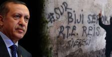"Sur'da ""Biji Serok R.T.E. Reis"" Mesajı"