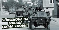 Yüksekova'da bir köy ve mezrada yasak ilan edildi