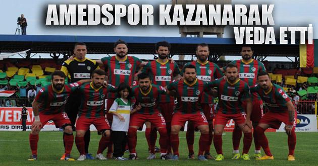Amedspor, son maç'ta Aydınspor'u mağlup etti. 2-1