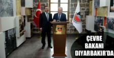 Çevre ve Şehircilik bakanı yardımcısı, Diyarbakır'da