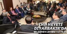 Chp heyeti Diyarbakır'a geldi, ziyaretlerde bulundu