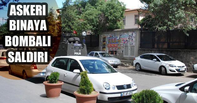 Diyarbakır'da Askeri binaya EYP'li saldırı