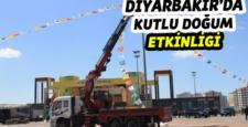 """Diyarbakır: """"Kutlu Doğum"""" etkinliğine hazır"""