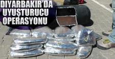 Diyarbakır'da uyuşturucuya geçit yok, büyük operasyon
