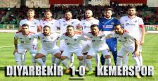 Diyarbekirspor, Kemerspor'u 1-0 mağlup etti