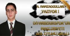 Diyarbekirspor'un mağlubiyeti akıl oyunu misali
