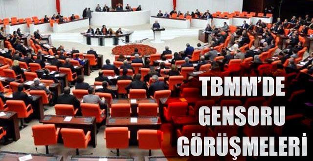 Meclis: HDP'nin verdiği gensoruları görüşülecek