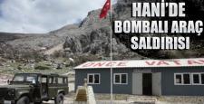 Hani: Jandarma komutanlığına bombalı saldırı