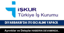 İşkur, Diyarbakır'da 170 işçi alımı yapacak