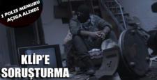 Sur'da çekilen klip sonrası Polis memuru açığa alındı