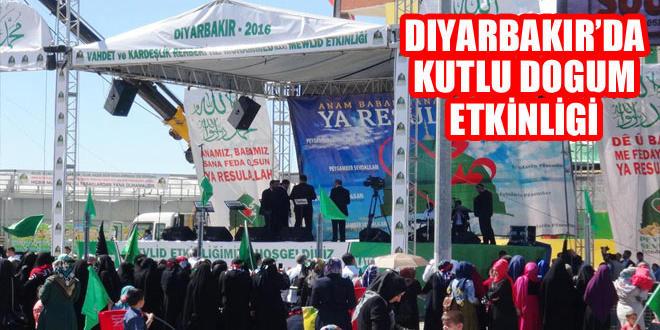 """Diyarbakır'da """"Kutlu Doğum"""" etkinliği başladı"""