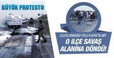 Mardin'in Kızıltepe'de elektrik kesintisi protestoso